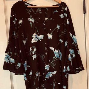 Floral blouse size L